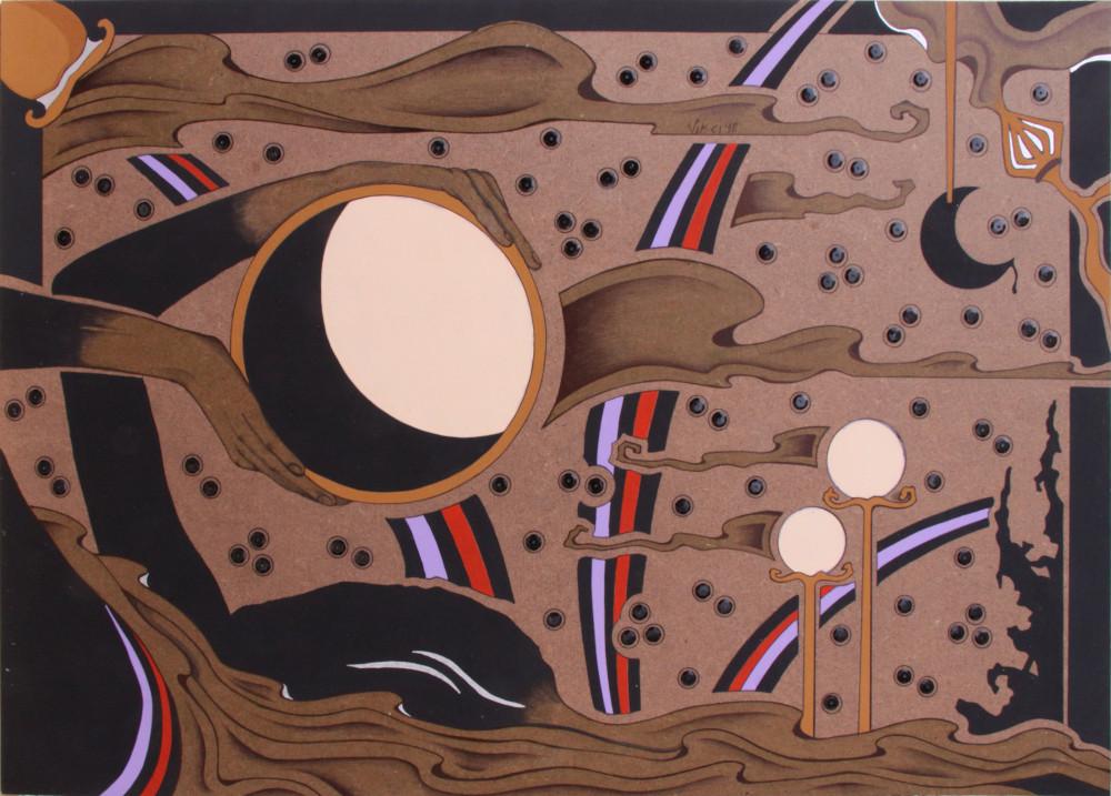 Acrilico su masonite 2010 cm.35x50