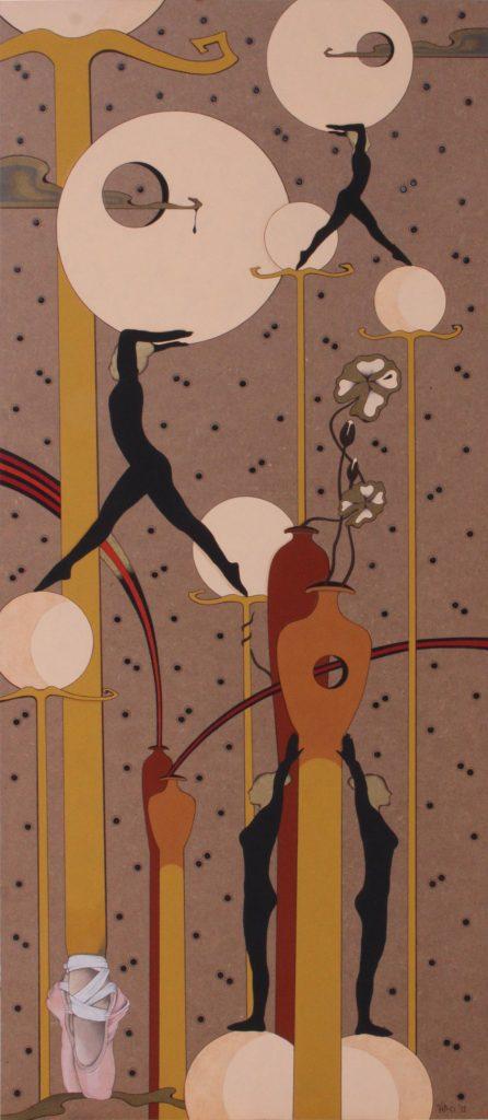 Acrilico su masonite 2011 cm.53x120