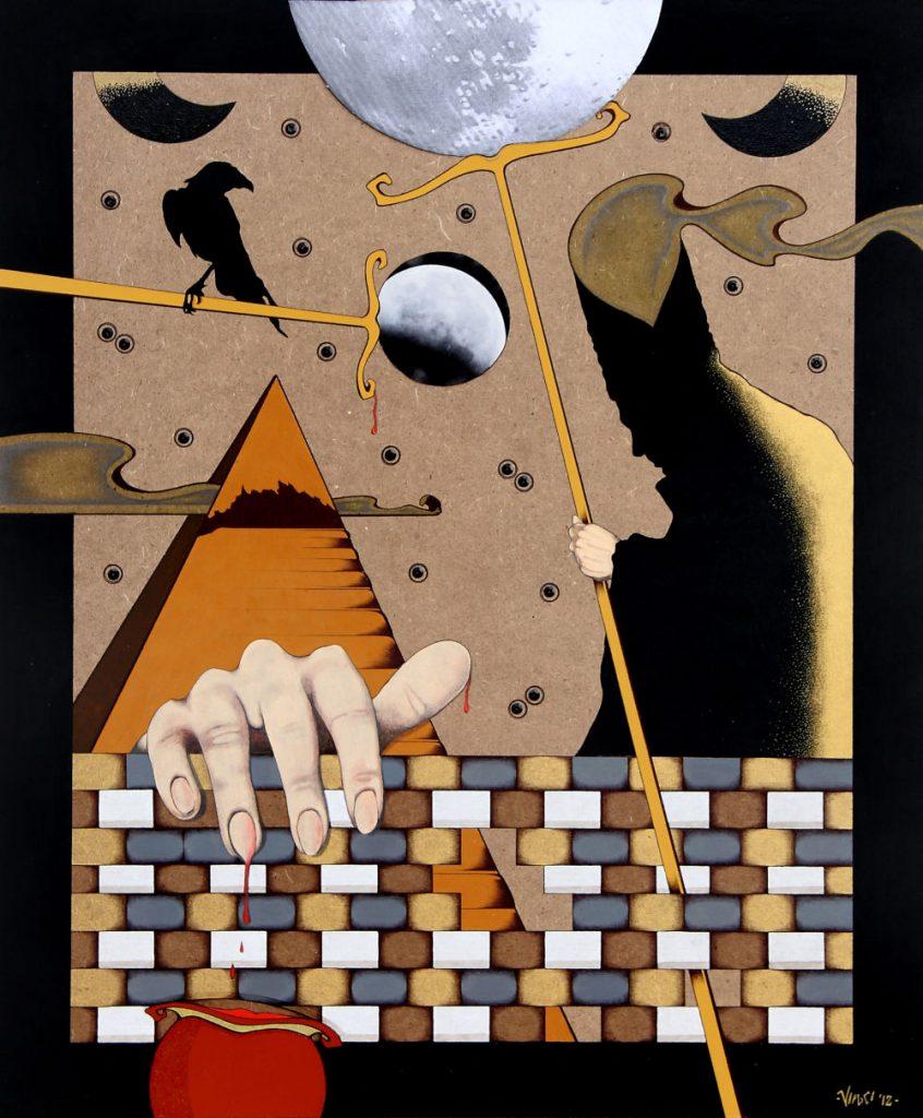 Acrilico su masonite 2012 cm.50x60