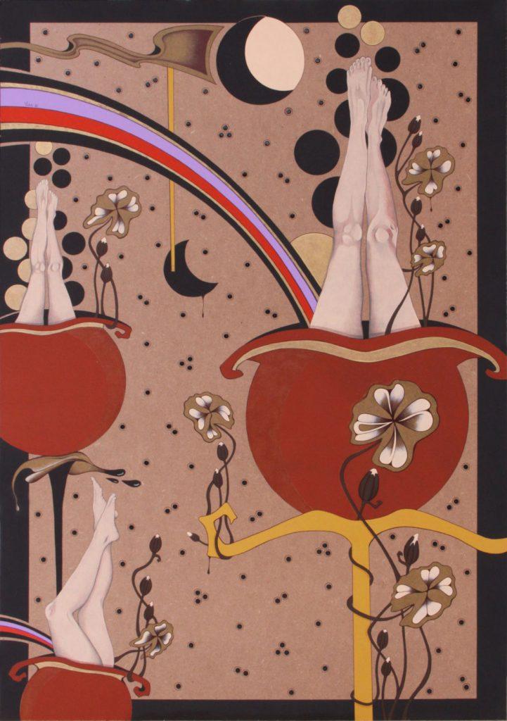 Acrilico su masonite 2010 cm.70x100