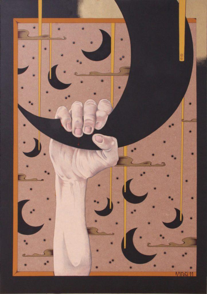 Acrilico su masonite 2011 cm.70x100