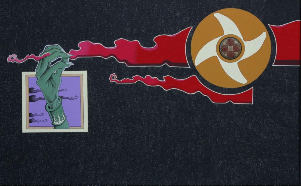 Acrilico su tela 2009 cm.80x50