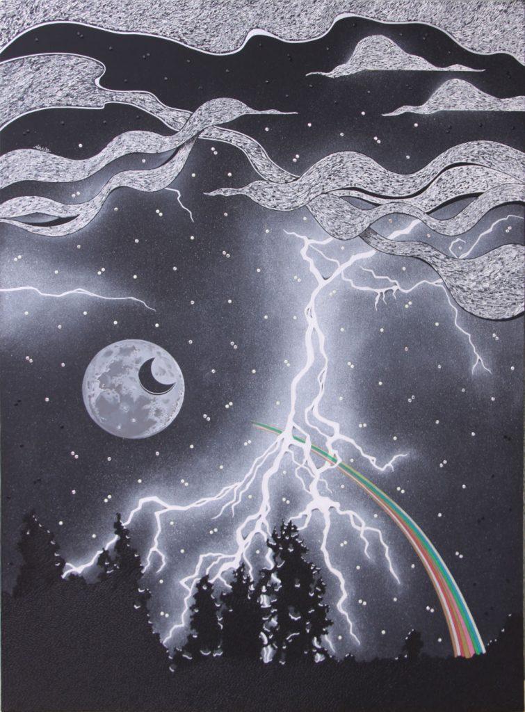 Acrilico su tela 2011 cm.110x150